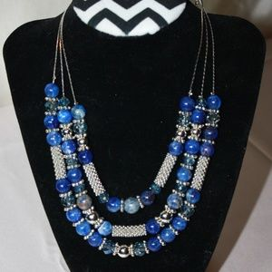 Mix It NWT Necklace 3 Layer